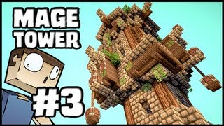 Minecraft Lets Build: Mage Tower - Part 3