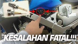 Download Video SALAH SATU PENYEBAB MESIN BUNYI KASAR PADA NINJA 150 RR #QnAdmotovlog MP3 3GP MP4