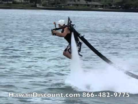 water sports - Get High with JetLev - reserve Jet Lev Water Jet Pack in Hawaii with Hawaii Discount and save money on exciting Hawaii Water Sports http://www.hawaiidiscount...