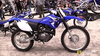 6. 2015 Yamaha TT-R 230 Motocross Bike - Walkaround - 2014 New York Motorcycle Show