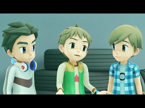 TOBOT English   409 Riders and Outsiders   Season 4 Full Episode   Kids Cartoon   Videos for Kids