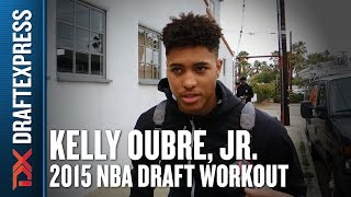 Kelly Oubre - 2015 Pre-Draft Workout & Interview - DraftExpress