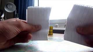 Just me ripping some paper apart... no wait.. putting together......... dafuq did I just see?