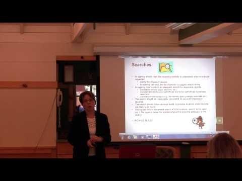 Open Public Records - Public Disclosure in WA State
