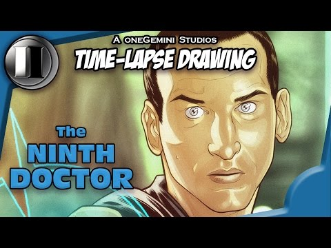 Blair Shedd Shows You How to Draw the Ninth Doctor