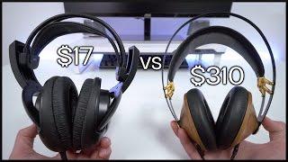 $17 Headphones vs $310 Headphones!