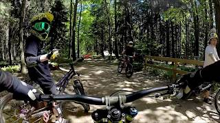 Video Black Mountain Bikepark Elstra - Chasing my son MP3, 3GP, MP4, WEBM, AVI, FLV Juli 2017