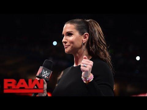 Stephanie McMahon & Mick Foley address Raw's Survivor Series teams: Raw, Nov. 14, 2016