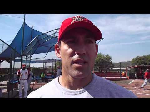 Alex Cabrera Entrevista Rojos del Aguila de Veracruz SpringTraining 2014