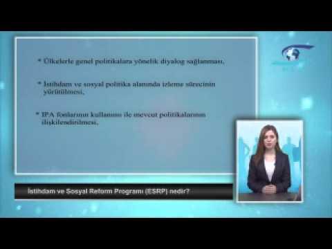 İstihdam ve Sosyal Reform Programı ESRP nedir