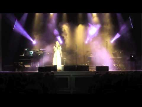 Kate Dowman supporting Aled Jones -Isle of Man 2011