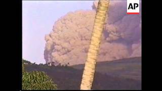 Natural Sound In its most spectacular eruption ever recorded - Montserrat's volcano has sent a river of super hot gas down its sides and clouds of ash thousands ...