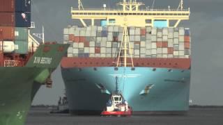 Video 131109 Shipspotting Rotterdam Maersk McKinney Moller MP3, 3GP, MP4, WEBM, AVI, FLV Juni 2018