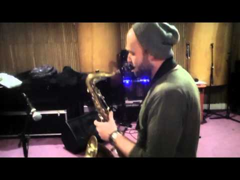 Derrick McKenzie and the Gang - Tomorrow [Ronnie Laws cover] rehearsal bit...