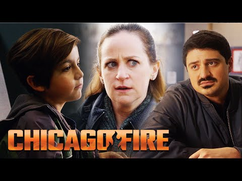 When The WRONG Parent Comes To Pick Up A Child | Chicago Fire