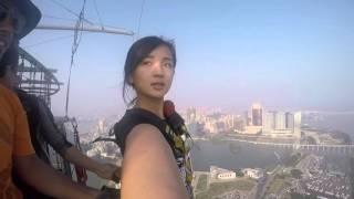 Video (GoPro) Bungee Jumping in Macau Tower MP3, 3GP, MP4, WEBM, AVI, FLV Oktober 2017