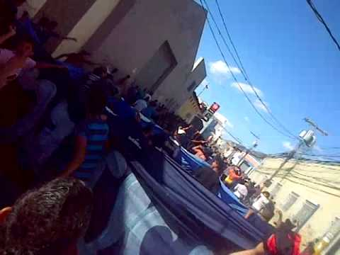 Video - Vamos Vamos Azules Caminata laRevo1928 - La Revo 1928 - Motagua - Honduras