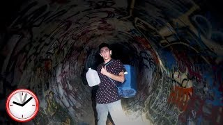 """OMG THAT WAS SO SCARY!!GUYS!! Today marks the 1 year since Anthony and I explored the haunted tunnel so we thought why not try an overnight challenge for this memorable date.. Yea that was a bad idea. Please be sure to subscribe to my channel if you're new for lit videos EVERYDAY!! Love you all so much!• SUBSCRIBE IF YOU'RE NEW - http://bit.ly/SubToRugAdd me on Snapchat! """"thefazerug""""Follow me on my Social Media to stay connected!Twitter - https://twitter.com/FaZeRugInstagram - https://instagram.com/rugfazeSnapchat - """"thefazerug"""" (Add me to see how I live my daily life) :DIf you read this far down the description I love you"""