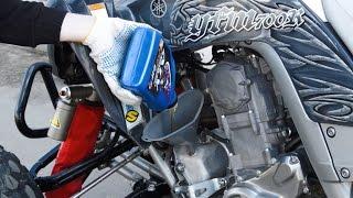 10. Замена Ма�ла на Yamaha Raptor 700