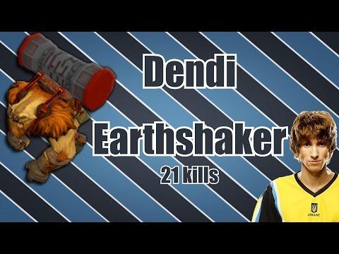 Dendi - Mid Earthshaker | Dota 2 Ranked Matchmaking