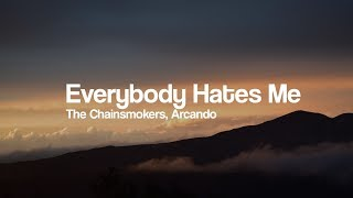 Video The Chainsmokers - Everybody Hates Me (Arcando Remix) [Bass Boosted] MP3, 3GP, MP4, WEBM, AVI, FLV Agustus 2018