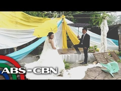 Rated K: Jasmine and Glen talk about their wedding in the midst of Typhoon Ompong (видео)