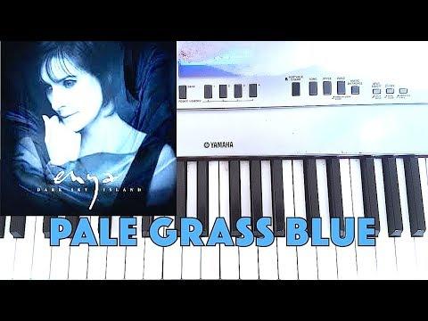 Enya - Pale Grass Blue - Piano Cover WITH Lyrics (TJ Malana)