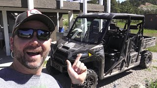 4. An Unbiased Short Review of the 2017 Polaris Ranger XP 1000 side by side UTV, Goods v/s Bads!
