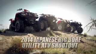 1. The Suzuki KingQuad 750 AXi Wins ATV.com's Japanese BigBore Shootout