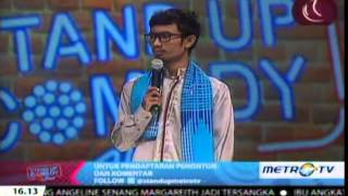 "Download Video Ridwan Remin ""One Direction nge-lenong"" #StandupComedyShow MP3 3GP MP4"