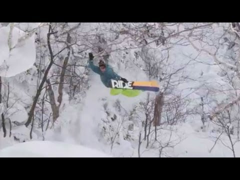 Jake Blauvelt's Naturally Web Series Snowboarding - Episode 1: Japan