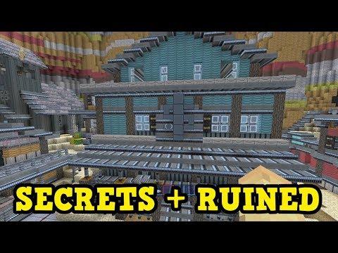 Minecraft SECRETS, & RUINING Canyon (Xbox 360 / PS3)
