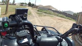 9. For Sale - 2009 Yamaha Grizzly 700 4x4- Vid 3