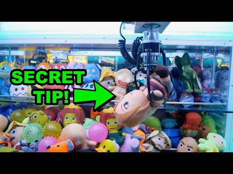 Simple TRICK to Win from Claw Machines!