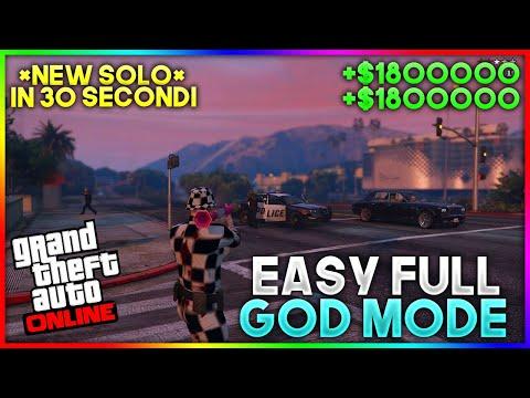 New SOLO GOD MODE Glitch 1 REQUISITO GTA 5 Online ITA - Immortalità In 30 Sec Soldi e … видео