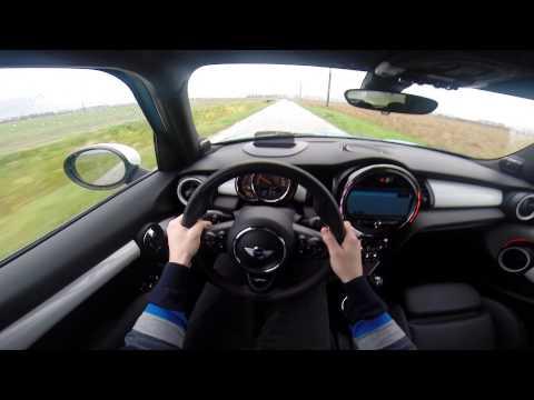 Mini Cooper S 5 door 192BHP 2014 POV test drive GoPro (видео)