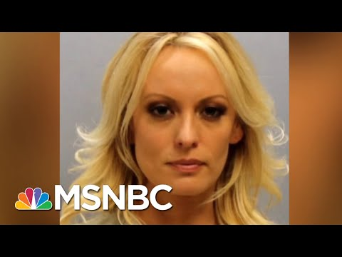 Stormy Daniels Out On $6,000 Bail Before Friday Arraignment | Velshi & Ruhle | MSNBC