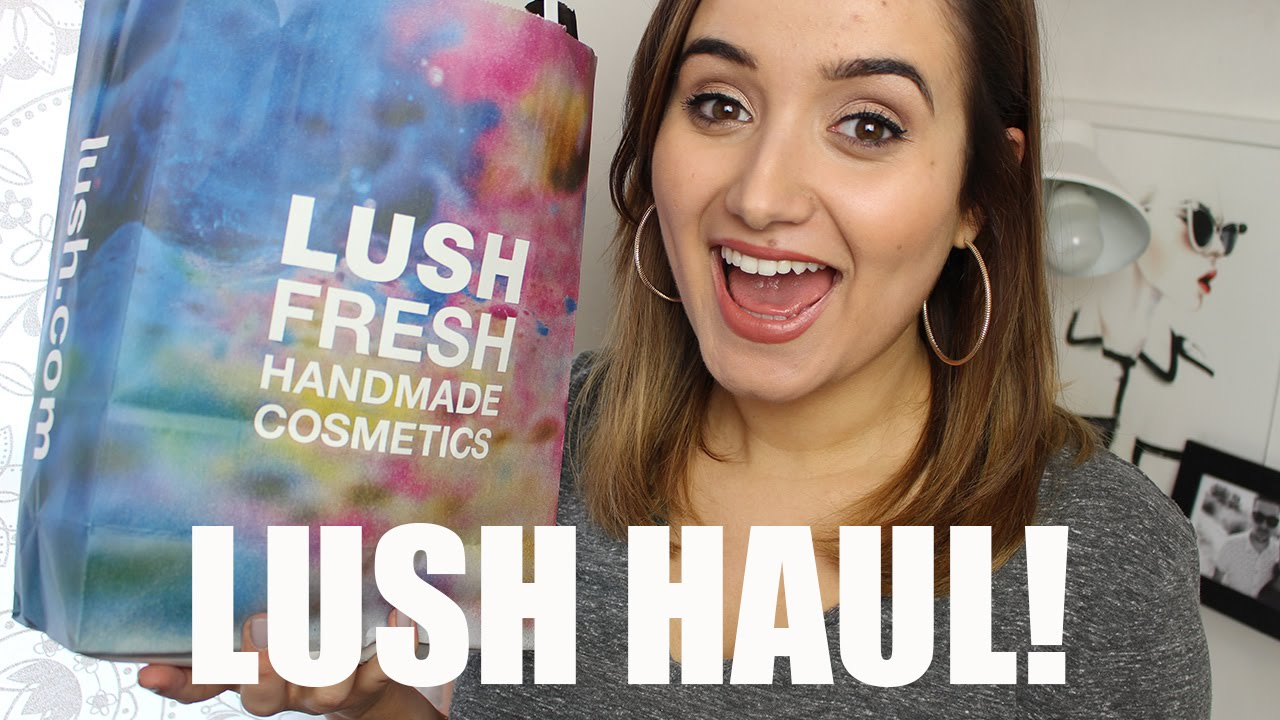 LUSH Haul, Valentines & Mother's Day | A Little Obsessed