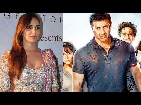 Esha Deol REACTS To Step-Brother Sunny Deol's Film
