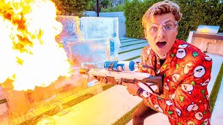 CAN FIRE MELT ICE?? (🔥vs❄️)