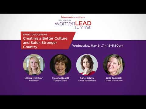 Creating a Better Culture and Safer, Stronger Country | Women LEAD Summit 2018
