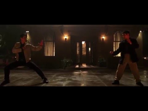 Romeo Must Die fight scene [Jet Li vs Russell Wong]