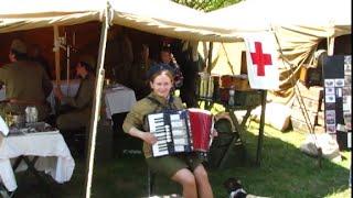 Video Lidová harmonikářka Tereza.