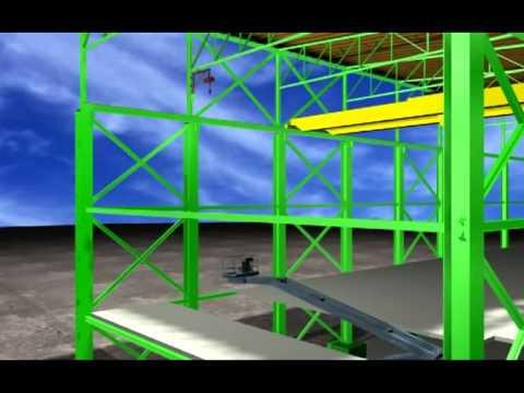 Simulacion de Montaje de GRUA de 30 Toneladas
