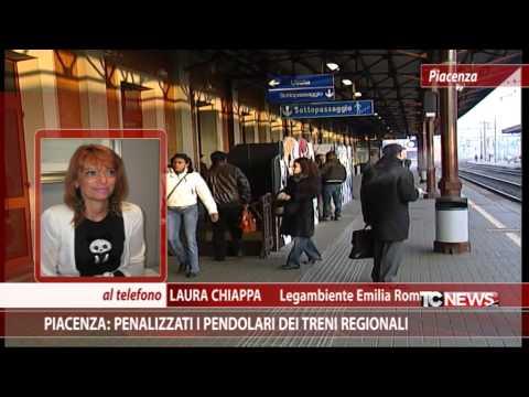 Piacenza: penalizzati i pendolari dei treni regionali