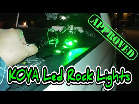 KOYA led rock lights