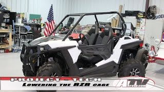 9. ATV Television - Lowering the 2015 Polaris RZR 900 Roll Cage
