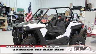 10. ATV Television - Lowering the 2015 Polaris RZR 900 Roll Cage
