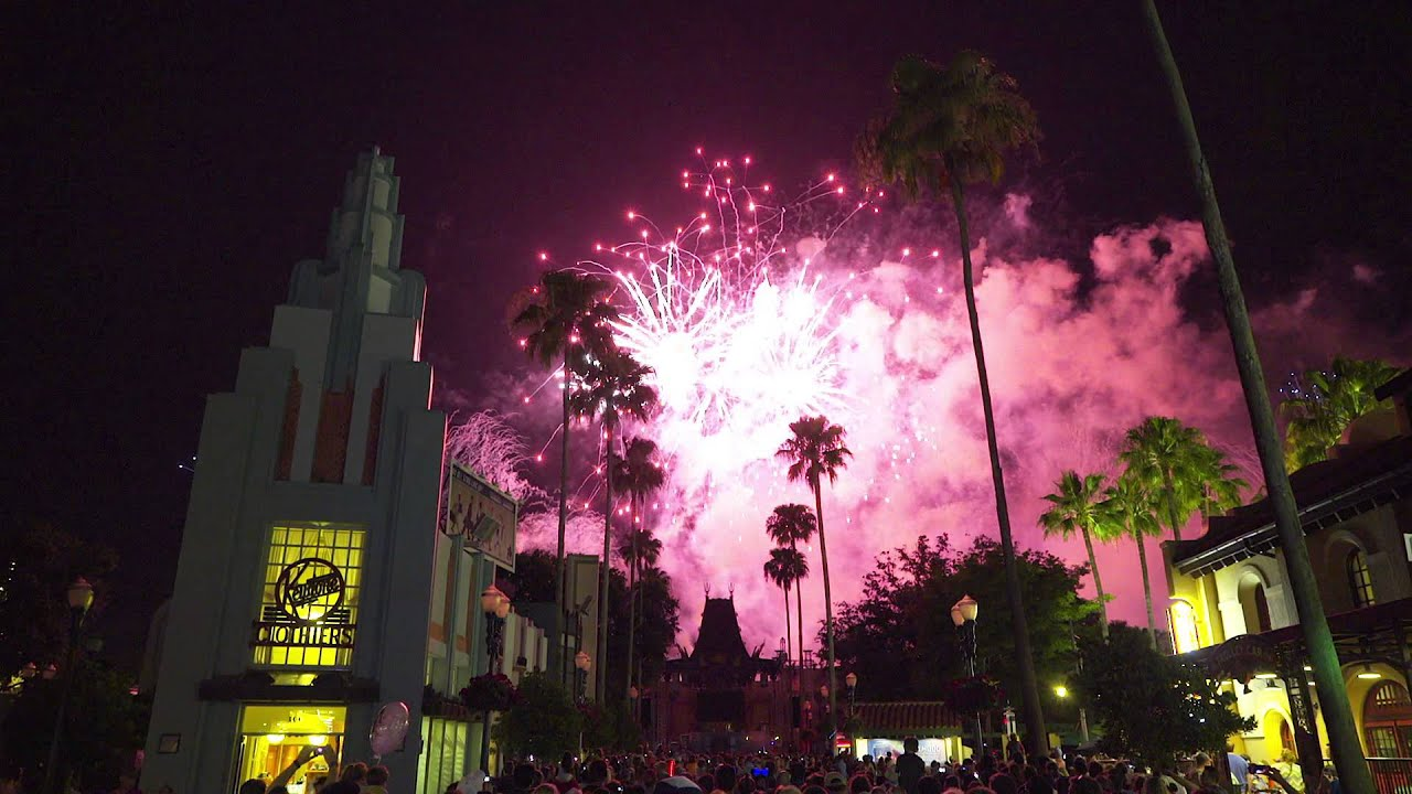 2015 Star Wars Weekends - Symphony in the Star Wars Fireworks multi-angle