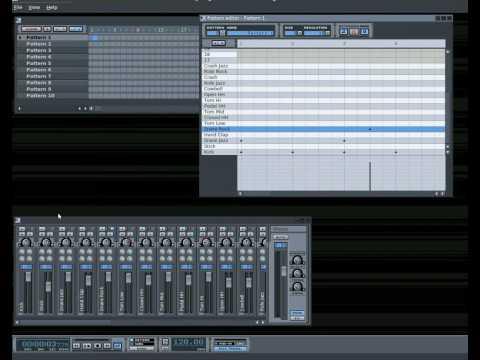 Pattern editor video